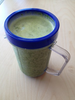 Green smoothies every day!