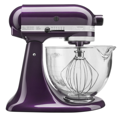 KitchenAid Stand Mixer in purple